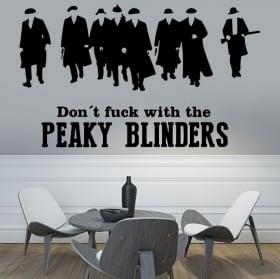 Vinilos y pegatinas peaky blinders