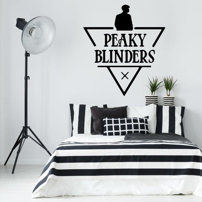 Pegatinas de vinilos serie tv peaky blinders