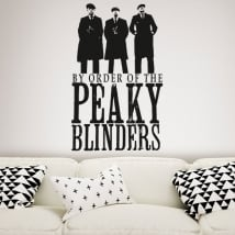 Vinilos decorativos serie de tv peaky blinders