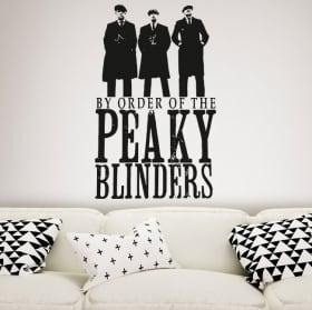 Vinilos decorativos serie de tv peaky blinders