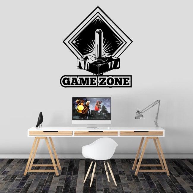 Vinilos decorativos videojuegos game zone