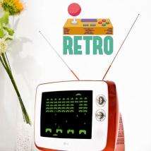 Vinilos decorativos videojuegos retro