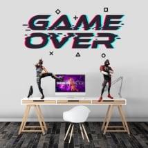 Vinilos adhesivos videojuegos game over