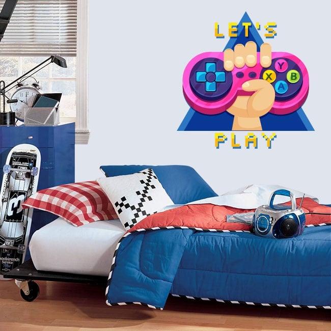 Vinilos y pegatinas videojuegos let's play