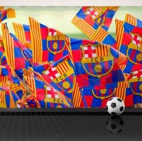Fotomurales de vinilo estadio de fútbol camp nou barcelona