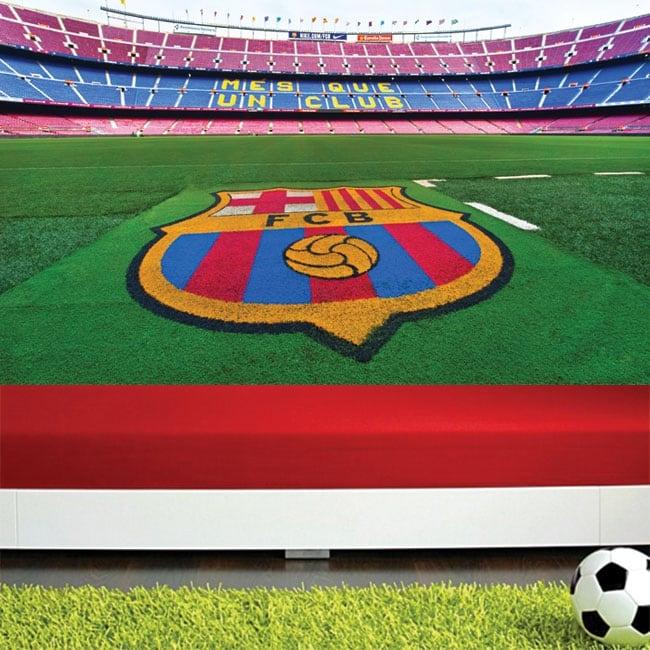 Fotomurales estadio de fútbol camp nou barça