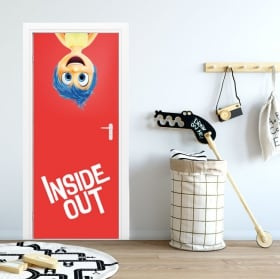 Vinilos para puertas disney inside out