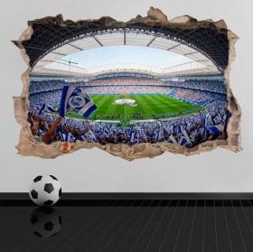 Vinilos y pegatinas 3d real sociedad estadio de fútbol reale arena