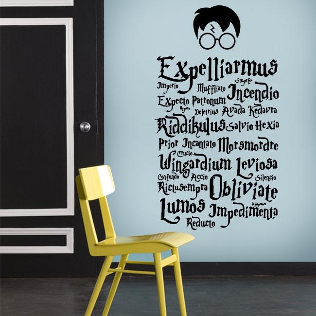 Vinilos paredes harry potter