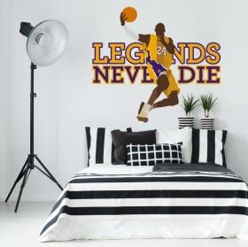 Pegatinas de vinilos kobe bryant los angeles lakers basketball