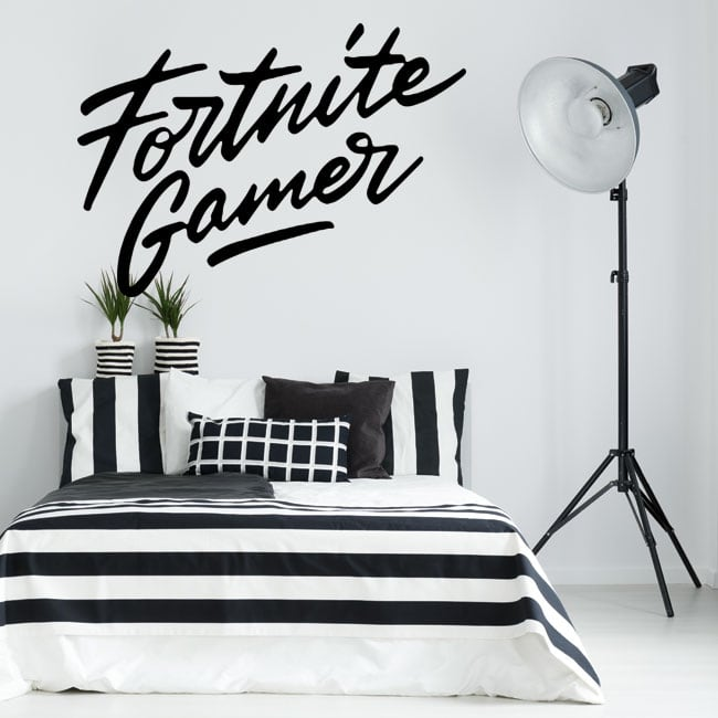 Vinilos decorativos fortnite gamer