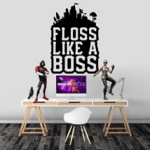 Vinilos adhesivos fortnite floss like a boss