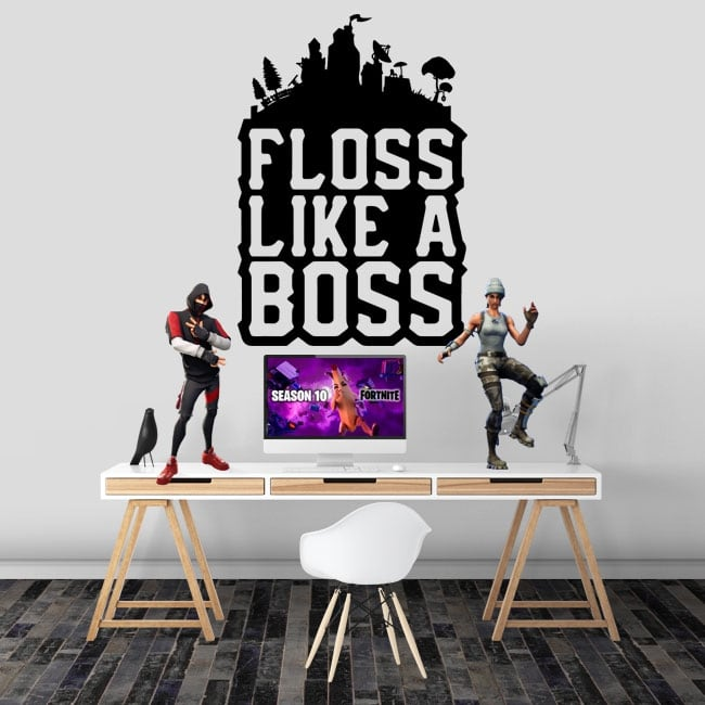 Vinilos adhesivos fortnite floss like a boss