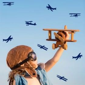 Vinilos decorativos y pegatinas kit de aviones