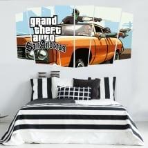 Vinilos videojuego grand theft auto san andreas