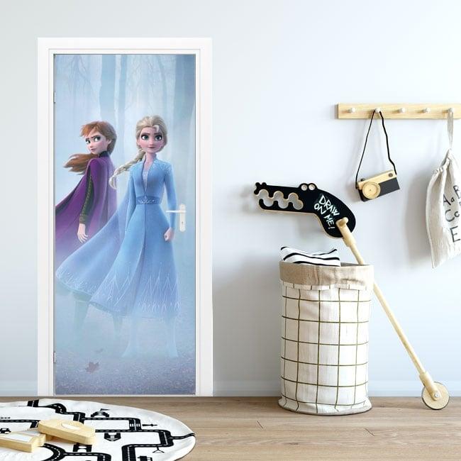 Vinilos para puertas y armarios disney frozen 2