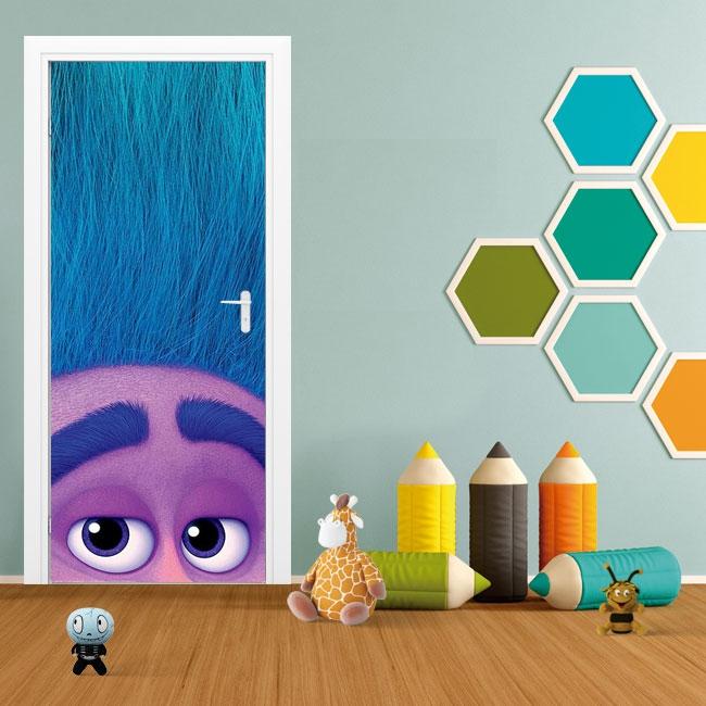 Vinilos decorativos puertas y armarios trolls