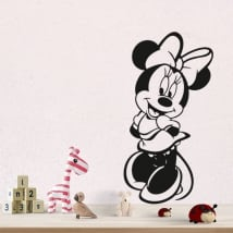 Vinilos y pegatinas disney minnie mouse