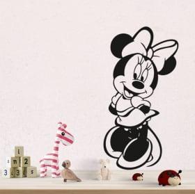Vinilos y pegatinas disney minnie mouse