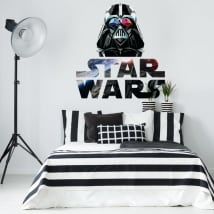 Vinilos decorativos darth vader star wars