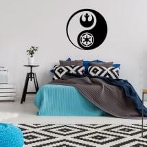 Vinilos y pegatinas yin yang star wars