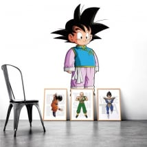 Pegatinas de vinilos decorativos dragon ball