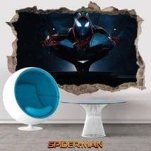 Pegatinas 3d miles morales spider-man