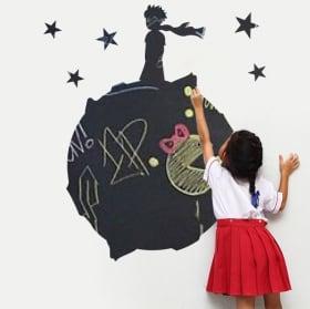 Vinilos infantiles pizarra negra el principito