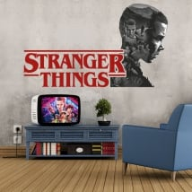 Vinilos decorativos y pegatinas stranger things