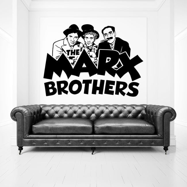 Vinilos y pegatinas the marx brothers