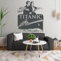 Vinilos decorativos y pegatinas del titanic