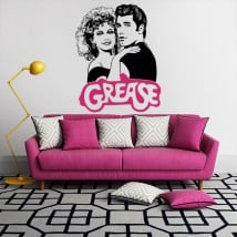 Vinilos decorativos y pegatinas grease