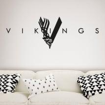 Vinilos decorativos y pegatinas vikings