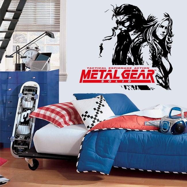 Vinilos videojuego metal gear