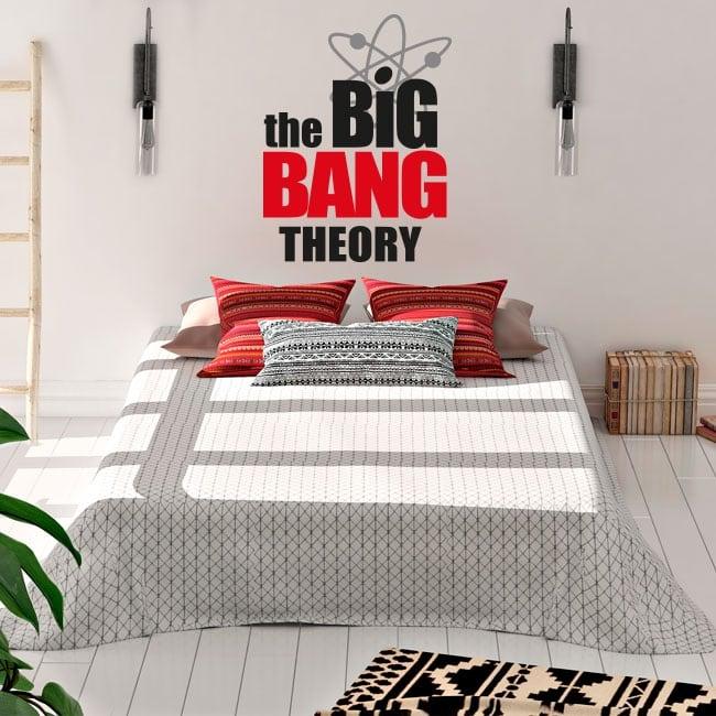 Vinilos y pegatinas la teoría del big bang