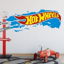 Vinilos decorativos y pegatinas hot wheels