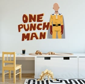 Vinilos decorativos y pegatinas one punch man