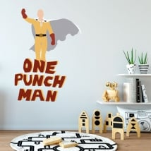Vinilos y pegatinas one punch man