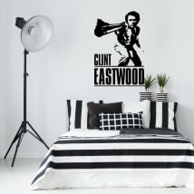 Vinilos decorativos clint eastwood harry el sucio