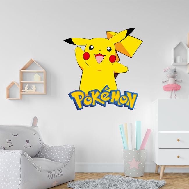Vinilo pikachu pokémon