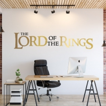 Vinilos y pegatinas lord of the rings