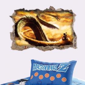 Vinilos y pegatinas dragon ball 3d