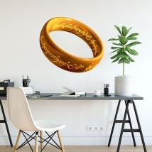 Vinilo adhesivo anillo señor de los anillos