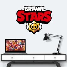 Vinilos y pegatinas logo brawl stars