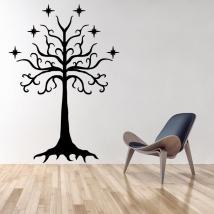 Vinilos árbol de gondor el señor de los anillos