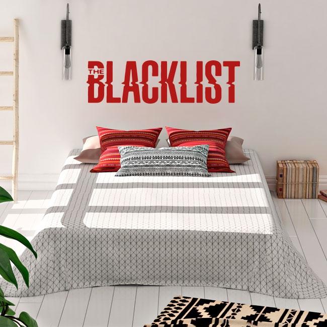 Vinilos decorativos serie netflix the blacklist
