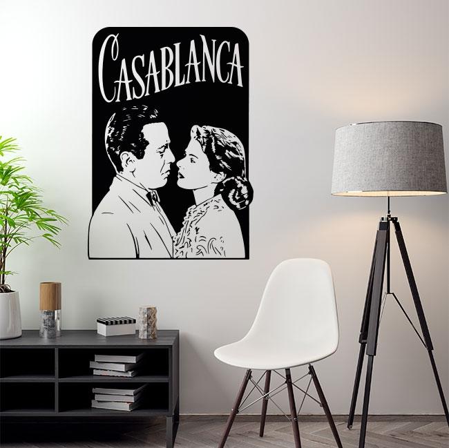 Vinilos decorativos película casablanca