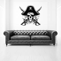 Vinilos calavera piratas del caribe