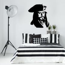 Vinilos jack sparrow piratas del caribe