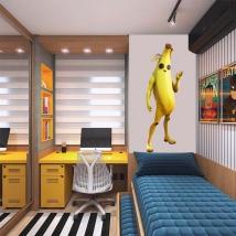 Vinilos videojuego fortnite banana